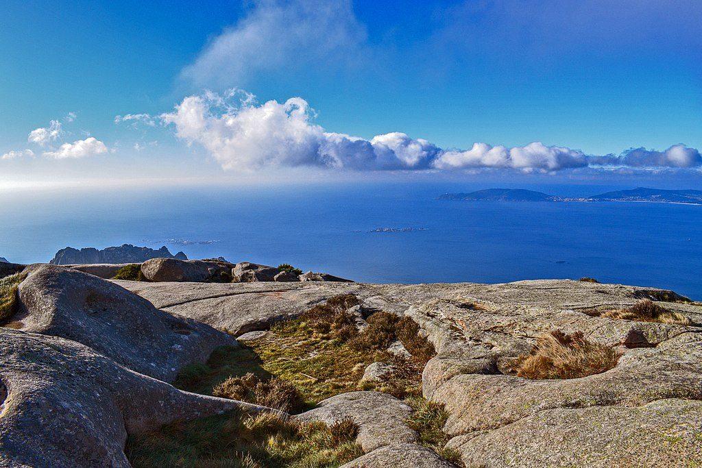 Vistas desde el Monte Pindo
