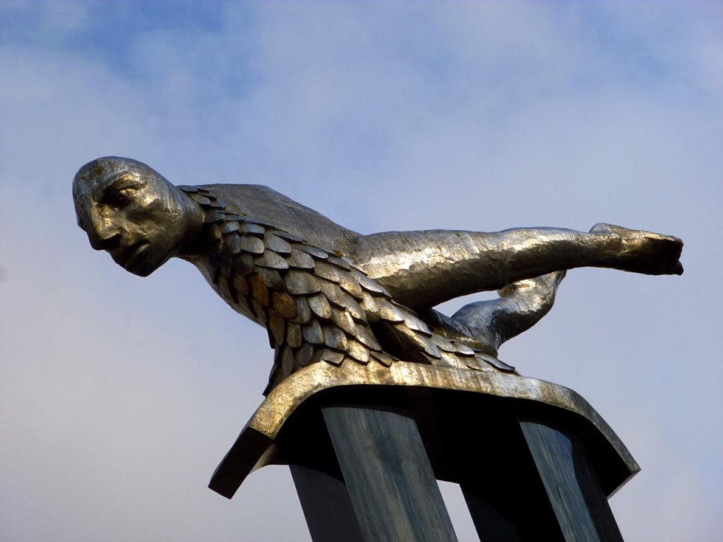 """Estatua de """"O Sireno"""""""