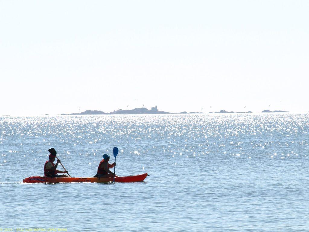 Canoas en O Ézaro