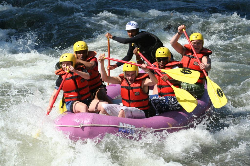 Rafting en Galicia