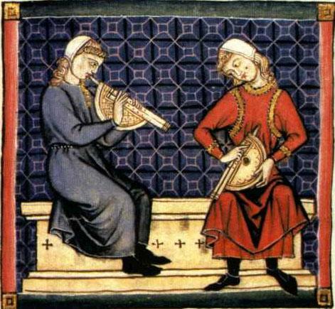 Trovadores y juglares