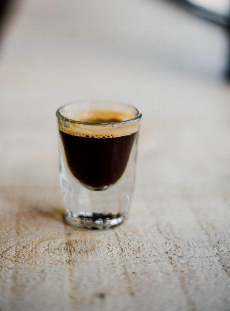 chupito licor café