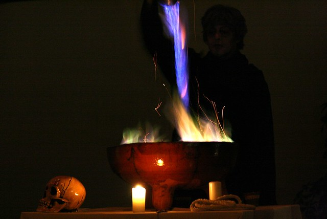 Luz de la queimada