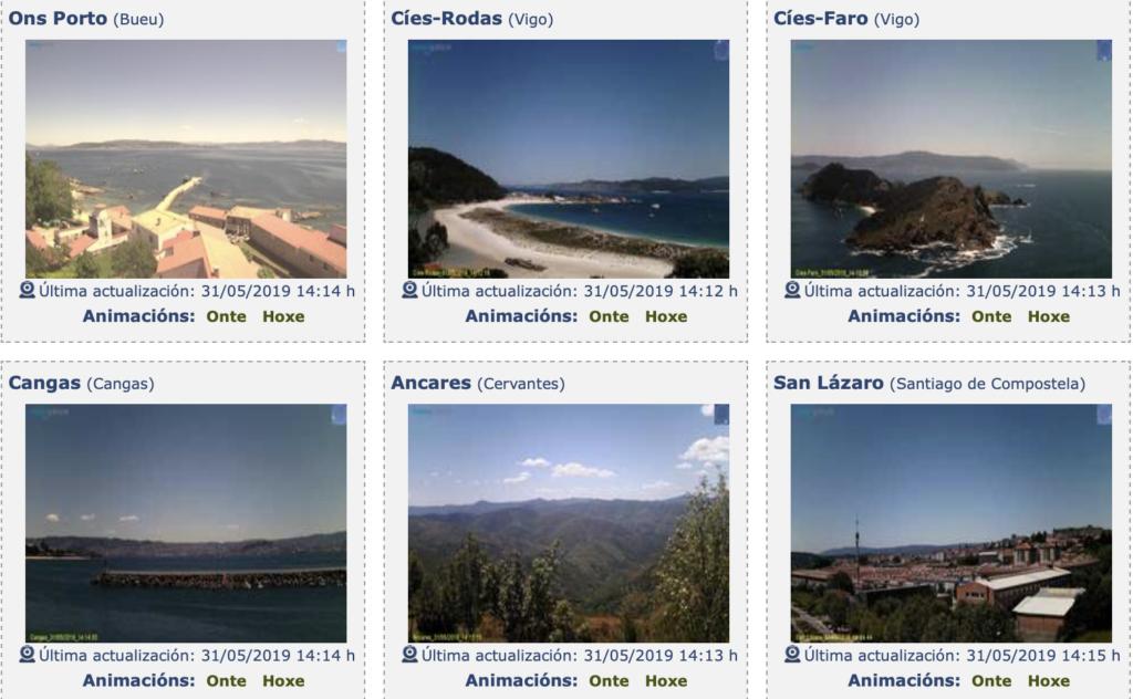 Webcams de Galicia