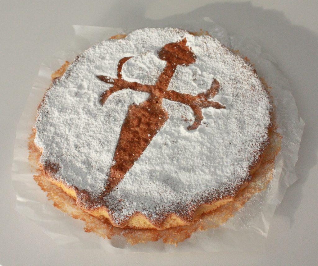 Tarta de Santiago, postre de la gastronomía gallega