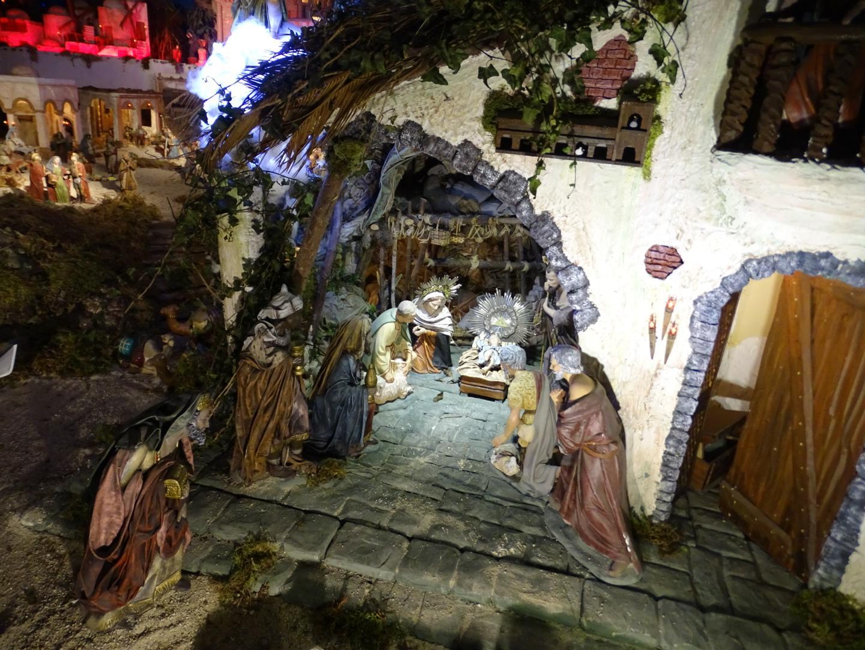 Belén convento concepcionistas Virgen de Lourdes